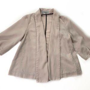 H&M • Cream Soft Open Blazer